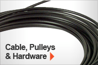 Shop All Cables, Pulleys & Hardware