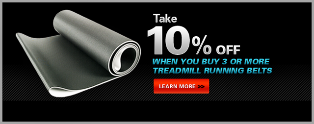 Save 10% On Treadmill Belts